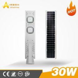 Todo integrado de alta calidad en un Jardín de Luz solar calle LED con Sensor de movimiento PIR