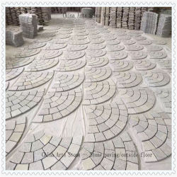 Chinese Achter Netto Marmeren Cobble/van het Graniet Straatsteen voor de OpenluchtTegel van de Tuin en van de Weg