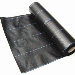 Plástico tejido anti-UV agrícolas Anti PP el control de malezas Mat