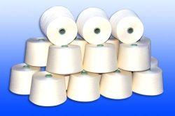 編むヤーン40sのロータスファイバーか綿のブレンドヤーン、ロータス蛋白質ヤーン