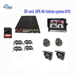3G 4G WiFi GPS G-Capteur 4CH Ahd 720p, 960H D1 CIF DVR/Mdvr mobile véhicule