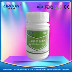 Witte kleur chloordioxide Aquacutlture sterilisatie en desinfecterende tabletten / waterzuiveraar Gemaakt in China