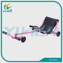 Juego de niños de la luz de flash PU fácil Scooter de rueda Rodillo rodillo onda juguetes coche