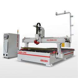 Atc 1530 del router di CNC di falegnameria per macchinario acrilico 2030/2040 di taglio del compensato del MDF di legno macchina per incidere/3D di coltivazione a frana e dei Governi 1325 di legno delle mobilie del portello