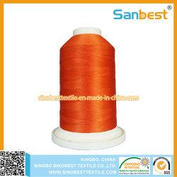 Qualidade Premium Rayon bordados de rosca com Encaixe a parte inferior