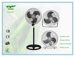 18 polegadas super grande potência ajustável em altura de folhas de ferro Applaince Ventilador de Suporte de Fábrica