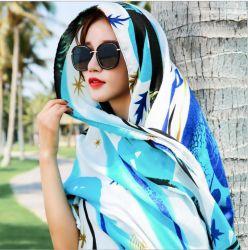 Lenços leve: Fashion Flores para as mulheres de Cintagem xale de impressão