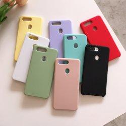 Ультратонкий силиконовый резиновый чехол для Oppo R15, мягкое прикосновение телефон чехол для iPhone