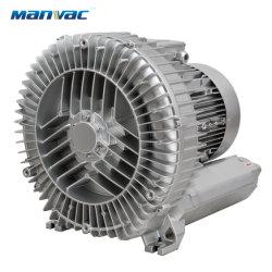 7,5 kw de 10 CV raíces oxígeno canal lateral del ventilador de aire de la aireación de la bomba de aireación