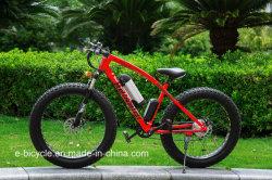 Fettes Gummireifen-Lithium-Batterie-elektrisches Fahrrad-Schnee-Strand E-Fahrrad
