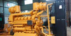مجموعة المولدات التي تعمل بالغاز Jichai 12V190 DT2-2 بقدرة 400 كيلو واط