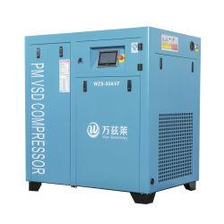 7,5 kwfonctionnement général de l'équipement industriel à long terme de l'unité Pm VSD intégré de l'air du compresseur à vis