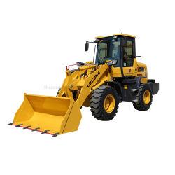 Lugong Palas frontales equipos agrícolas de la máquina cargadora de ruedas