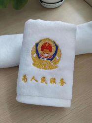 Toalhas de Hotel Terry refrescante toalhas Airline branco toalha de algodão