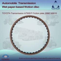 Toyota-Übertragung A750e/F (2003-ON) 5 Geschwindigkeit Rwd Friktions-Platte (35667-60010)