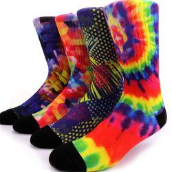 Bequeme bunte Tube Socken Custom Sockendruck in Top-Qualität