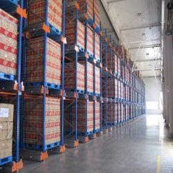 Haute vitesse radio personnalisé Heavy duty Service de navette pour l'entrepôt de stockage de rayonnage à palettes