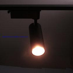 أفضل أداة صرّاف أصلية من المصنع باللون الأبيض/الأسود 20 واط/30 واط/40 واط/قضيب تتبع النقاط القابل للتخفيت بقوة 10 واط ضوء LED خفيف لمسار الضوء