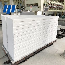 El panel de pared de hormigón celular Autoclave Máquina 100000m3 - 150000m3