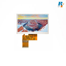 5.0 Polegada Interface Digital TFT LCD Tn o módulo do mostrador para aparelhos domésticos