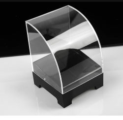 Banco di mostra acrilico personalizzato del pane