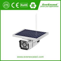 4G солнечной батареи на базе Водонепроницаемый для использования вне помещений ночного видения ИК Безопасность CCTV Цифровые IP-камера