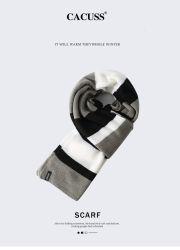 I fornitori hanno personalizzato la sciarpa acrilica 2 di modo di inverno