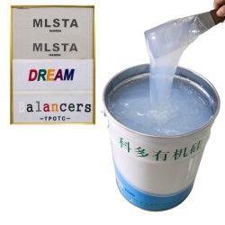 Vloeibare molding-silicone voor Heat Press op stof-garment