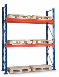 Rack pallet in acciaio di alta qualità CE per magazzino in metallo e. Ripiano
