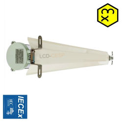 Lat van de explosieve LEIDENE van het Waterdichte schot van het Bewijs Opgezette 20W de Muur Openlucht Lichte IP65 Compacte LEIDENE Verlichting met de Ballast van de Hoge Frequentie voor LEIDEN van de Installatie van het Nitraat van het Ammonium Licht