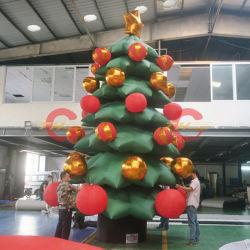 Decoración Navideña exterior inflables inflables promocionales/árbol de Navidad