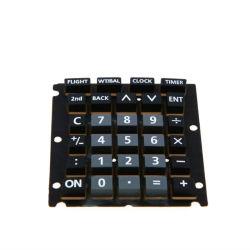 Pas POS van de Telefoon van de Calculator van de Vervaardiging het zijde-Scherm van de Controle het de RubberSleutel van het Silicone/Knopen/Toetsenbord van het Toetsenbord aan