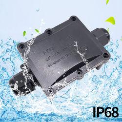 F713 PI68 elétricos à prova de caixa de junção de Metro de plástico o fio elétrico da caixa de ligação