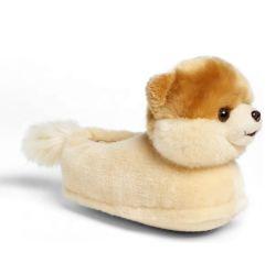 겨울 동안 견면 벨벳 개 애완 동물 Corgi 슬리퍼 재미있은 실내 슬리퍼