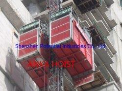 La construction de bâtiments Ascenseur Ascenseur palan passager