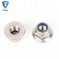 Aço inoxidável um2-70 SS304 porcas hexagonais cónico com anilha de mola