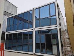 Dois pisos modulares personalizados Acampamento prefabricados Recipiente Construção House