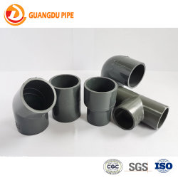 La norme ASTM Sch40/80 Raccords de tuyaux en PVC PVC 90 degrés/CPVC réduisant le raccord coudé avec filetage femelle