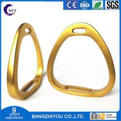 Harness Aluminium Stabil Silber Leicht Sattel Fußhocker Gold Champagner Geschwindigkeit Stall Stirrup