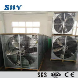 Unità in opposizione del sistema centrifugo del ventilatore di scarico di ventilazione per l'azienda avicola