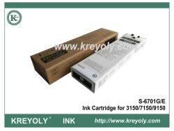 S-6701 o cartucho de tinta preta para máquina de jacto de tinta 3150 7150 9150