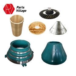 concasseur à cônes parties supérieure et inférieure de la pompe manuelle de la plaque du ventilateur