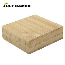 5 Houten Gebruik van de Vouw van het Bamboe van de laag het Verticale Stevige voor de Eettafel van het Bamboe