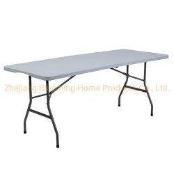 5FT 60 inch Plastic opvouwbare tafel voor buiten voor picknick/vergadering/studie/dging/feest