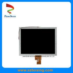 La luz del sol legible módulo LCD 8 pulgadas con 650 cd/m2 y 1024X768P