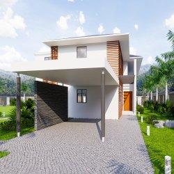 Prédio de aço Casa prefabricadas confortável casa Modular Portable Prefab House