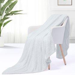 Trama ultra suave tejer mantas de lana Super acogedor lanza
