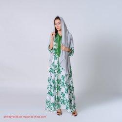 Оптовая торговля мусульманских исламской одежды Дубаи Abaya заводская цена современных женщин Abaya Abaya Дамы платье Maxi Spreader длинной втулки ослаблены Обычная повседневная долго Dresse Kaftan партии