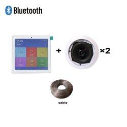 Ba-225tc Pk1 Домашняя аудиосистема в том числе усилитель звука Bluetooth с сенсорным экраном и 2*25W коаксиальный потолочный громкоговоритель