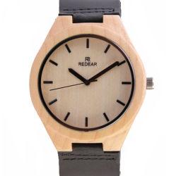 簡単で、優雅な偶然のかえでの腕時計